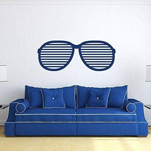 BYRON HOYLE Chic Sunglasses Design Vinyl Wall Decal, Hip Shades Sticker Vinyl Decor for Living Room, Bedroom, or Studio Decoration