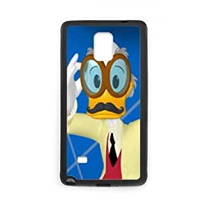 Samsung Galaxy S4 Phone Case Black Disney An Adventure In Color Character Ludwig Von Drake WQ5RT7597001