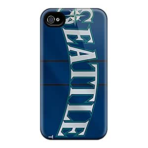 Rosesea Custom Personalized RentonDouville Premium Protective Hard Cases For Iphone 6- Nice Design - Seattle Mariners