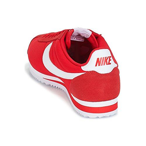 Rosso NIKE White BUTY 001 Sneaker Red Alte University Classic Cortez Nylon Uomo d0nfrdv