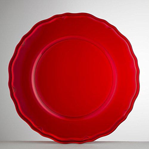 Mario Luca Giusti Set 6 Giotto Plate Red by Mario Luca Giusti (Image #4)