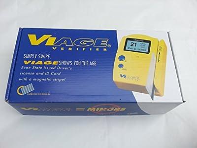 CARDCOM CAV-2000 Hand-Held I.D. Verifier w/ MSR, Graphic LCD Display,