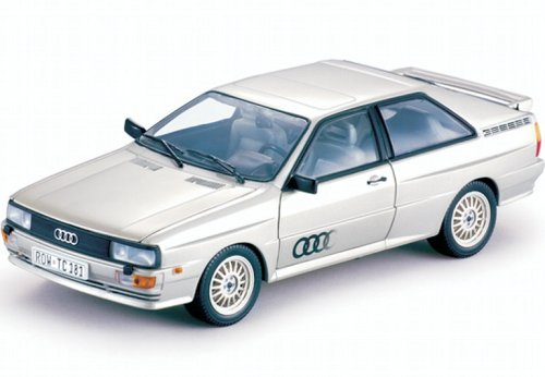 1981 Audi Quattro Coupe Silver 1/18 by Sunstar 4152 - Quattro Coupe