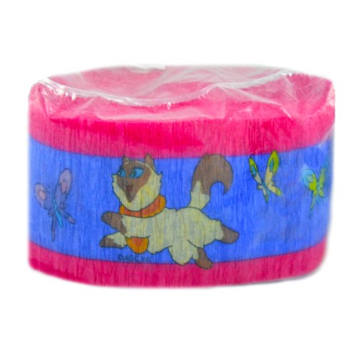Sagwa the Chinese Siamese Cat Crepe Paper Streamer (30ft)