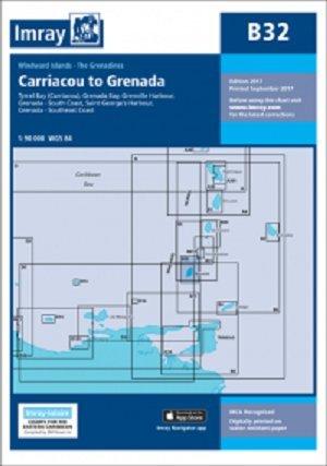 Imray Chart B32: Carriacou to Grenada (Iolaire)
