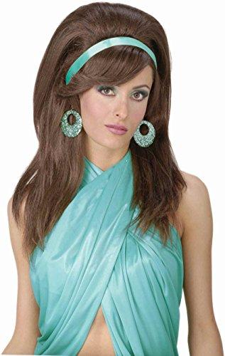 Forum Novelties Women's 60's Mod Wig, Auburn, One (Priscilla Presley Costume)
