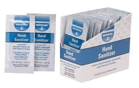 Hand Sanitizer, Size 0.9g, Gel, PK25