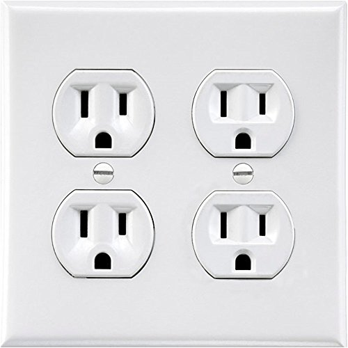 Elec Outlets - Electrical Sticker   Fake Wall Outlet Sticker   Electrical Plug Sticker