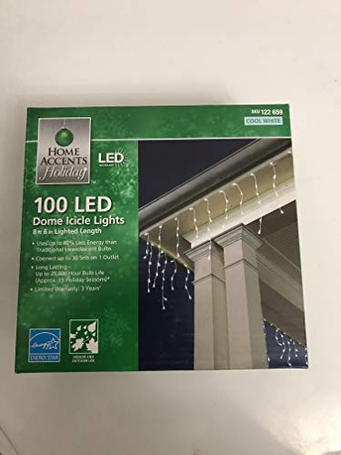 Led Dome Icicle Lights