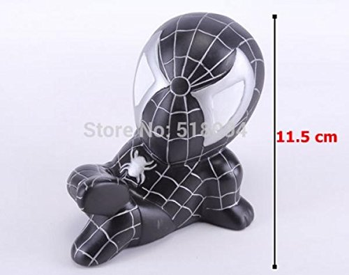 Spider-man Piggy Coin Bank PVC Figure Toys Dolls Gifts for Children Style 3