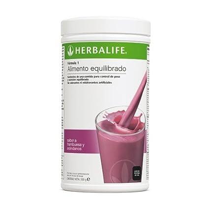 Herbalife Formula 1 batidos (Elije tu sabor) (Frutos del bosque, 1 u, 550g)