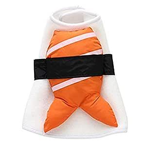 Hellycuche Disfraz de Sushi para Mascotas, Suave, Lindo, Vestido ...