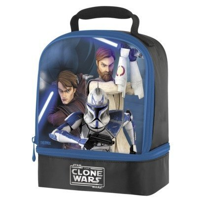 - The Clone Wars Insulated Lunch Tote Bag