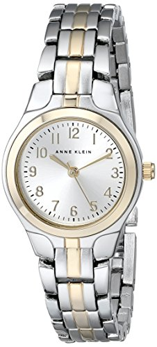 Anne Klein Women's 105491SVTT Two-Tone Dress Watch (Sale Silver Ben)