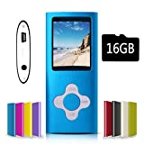 G.G.Martinsen Blue Versatile MP3/MP4 Player with a Micro SD Card