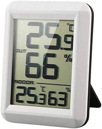 Guangcailun Digital Lcd Funk Thermometer Hygrometer Mit Transmitter Temperatur Feuchtigkeits Test Meter Innenwetterstation Küche Haushalt