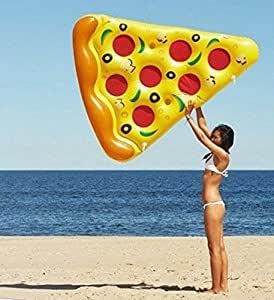 Classic giant inflatable pizza slice swimming - Amazon inflatable swimming pool toys ...