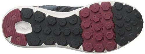 Scarpa Media Adidas Neo Uomo Lite Racer Mid / Bold Onix / Bordeaux Bordeaux