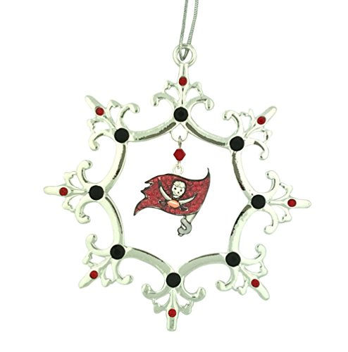 Final Touch Gifts Tampa Bay Buccaneers Rhinestone Christmas Ornament