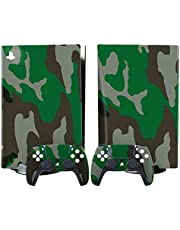 Decal Skin for PS5 Disk and Digital Edition, Stickers Decal Skin for Playstation 5 Console Controllers, Vinyl Full Body Color Artwork Protective Decals A-Disk Edition