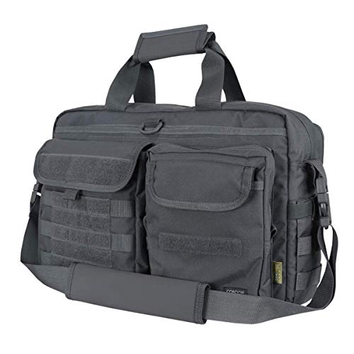 Condor Elite Tactical Metropolis Briefcase 111072-027 Slate