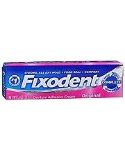 Fixodent Denture Adhesive Cream Original 1.4 Ounce (41ml) (3 Pack)
