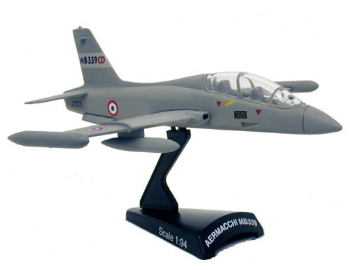 Postage Stamp Planes Aermacchi MB 339 Diecast Model, used for sale  Delivered anywhere in USA
