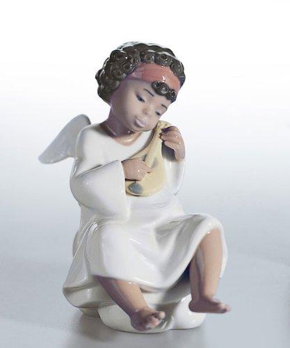Lladro Cherub (Lladro An Angel's Tune Porcelain Figurine)