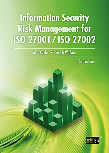 Information Security Risk Management for ISO 27001/ISO 27002, 3rd Edition Front Cover