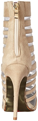 Luichiny Women's Carried Away Ankle Bootie Natural z4gHqrhIe