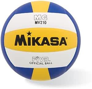 Mikasa MV210 - Balón de Voleibol sintético (Talla Oficial): Amazon ...