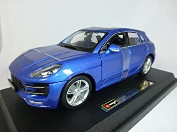 Bburago Porsche Macan Modellino Scala 1:24