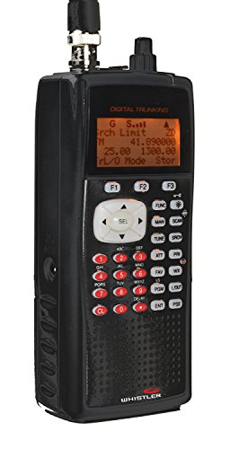 Whistler WS1040 Handheld Digital Scanner Radio by Whistler