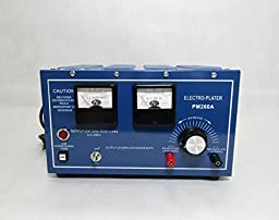 Cyana brand NEW 30A Platinum Silver Gold Plating Machine Jewelry Plater Electroplating Rectifier 110V