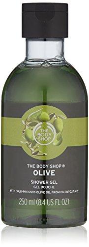 The Body Shop Olive Shower Gel, Paraben-Free Body Wash, 8.4 Fl. Oz.