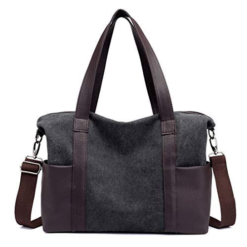 Shopping Moda Casual Nero Travel Bag Big Muchao Donna sQthrdC