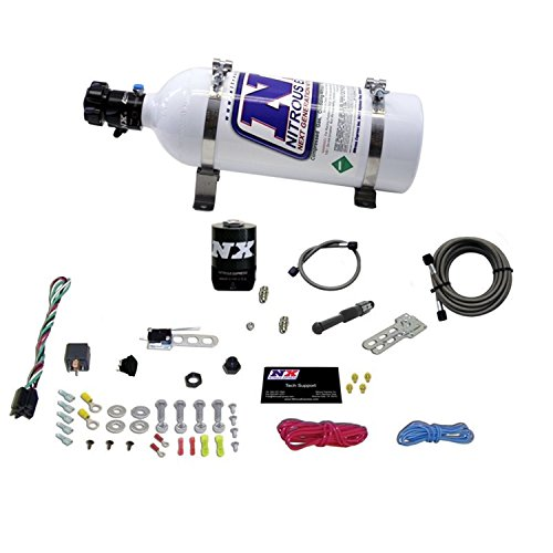 Single Nozzle System - Nitrous Express 21000-05 35-150 HP Dry EFI Single Nozzle System with 5 lbs. Bottle