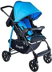 Carrinho de Bebê Ecco, Burigotto, Azul, Até 15 kg