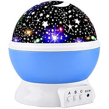 Amazon Com Soaiy Sleep Soother Aurora Projection Led