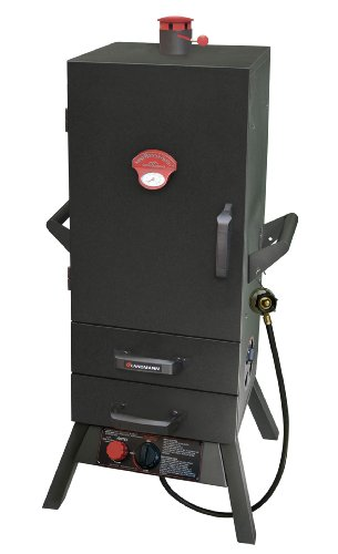 Cheap Landmann USA 3495GLA Smoky Mountain Vertical Gas Smoker, 34-in