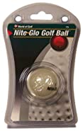 Jef World of Golf Gifts and Gallery, Inc. Nite Glo Golf Ball (White)