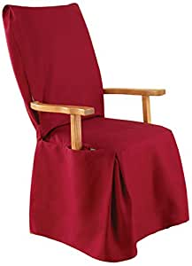 Amazon Com Sure Fit Cotton Duck Dining Room Chair