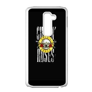 LG G2 Cell Phone Case White Guns n Roses 3 OJ450221