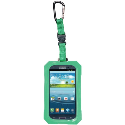 Iii Dri Cat (DRI CAT 11063P-C107 Hang It Waterproof Case with Carabiner for Samsung Galaxy S III - 1 Pack - Retail Packaging - Lime)