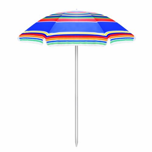(ONIVA - a Picnic Time Brand Outdoor Sunshade Umbrella, Multi-Color Stripe)