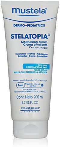 Mustela Stelatopia Moisturizing Cream, 6.7 fl. oz.