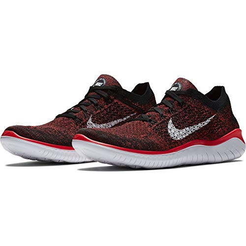 white Para 2018 Zapatillas black 001 Eu 40 Hombre bright Free Nike Flyknit Rn Crimson XCwtzxq1