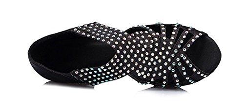 Slip Moderno Black MGM 6cm e Joymod Heel Donna on Jazz nZf0Xrxf