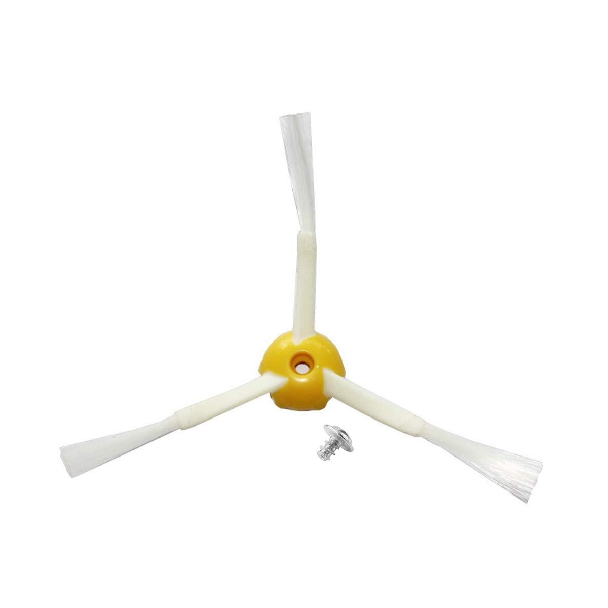 Kit 3 Pale Aste Ricambi 600 e 700 MIRTUX Pack di 3 spazzole Laterali compatibili con Roomba 500