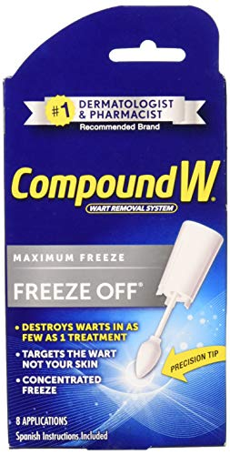 Compound W Freeze Off Wart Remover-8 applications (Liquid Nitrogen For Age Spots On Face)